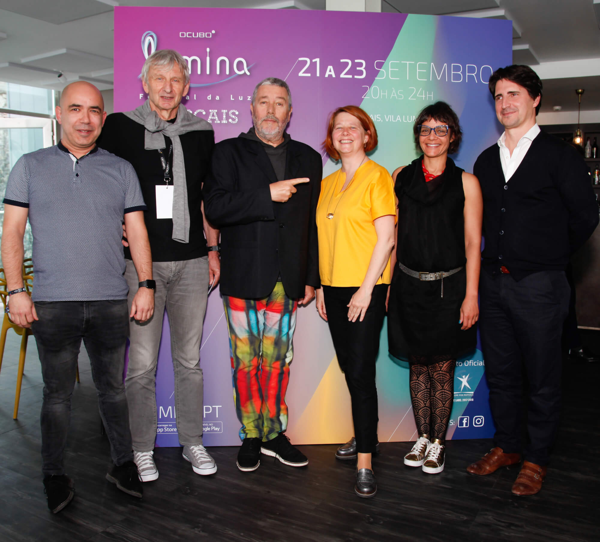 PHILIPPE STARCK, SPONSOR OF THE 7th EDITION OF LUMINA LIGHT FESTIVAL