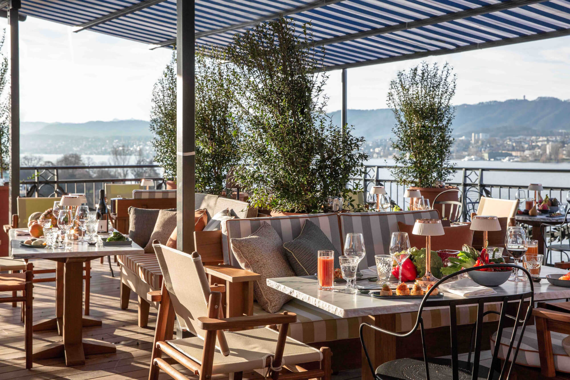 LA RESERVE EDEN AU LAC, ZURICH, THE IMAGINARY YACHT CLUB BY THE LAKE