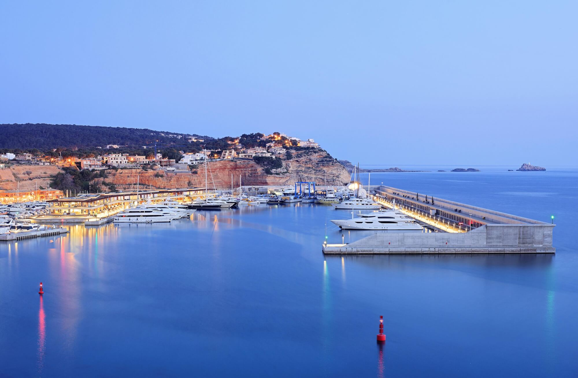 Port Adriano, the new harbor designed by Philippe Starck