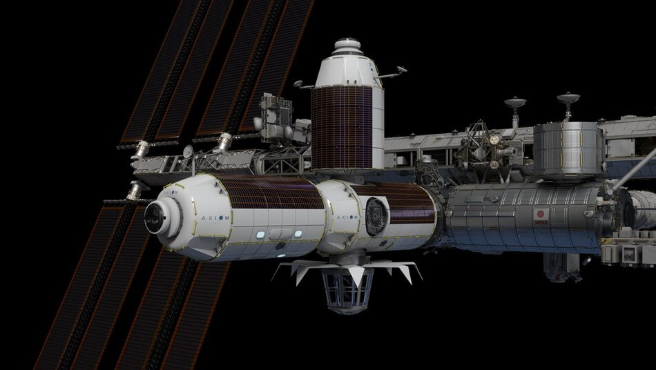 Axiom Space wins NASA approval for construction of commercial space station on ISS  -