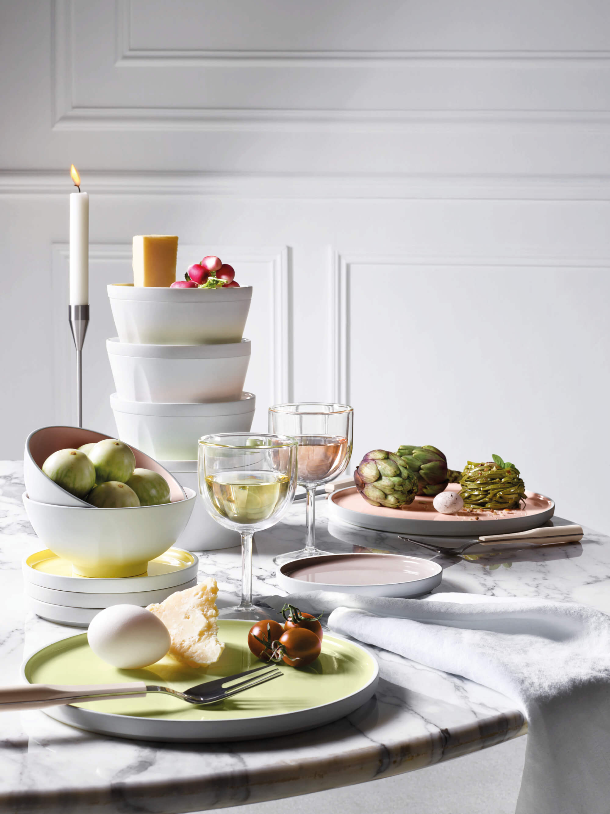 L'Econome by Starck - Crockery and Glassware (DEGRENNE)