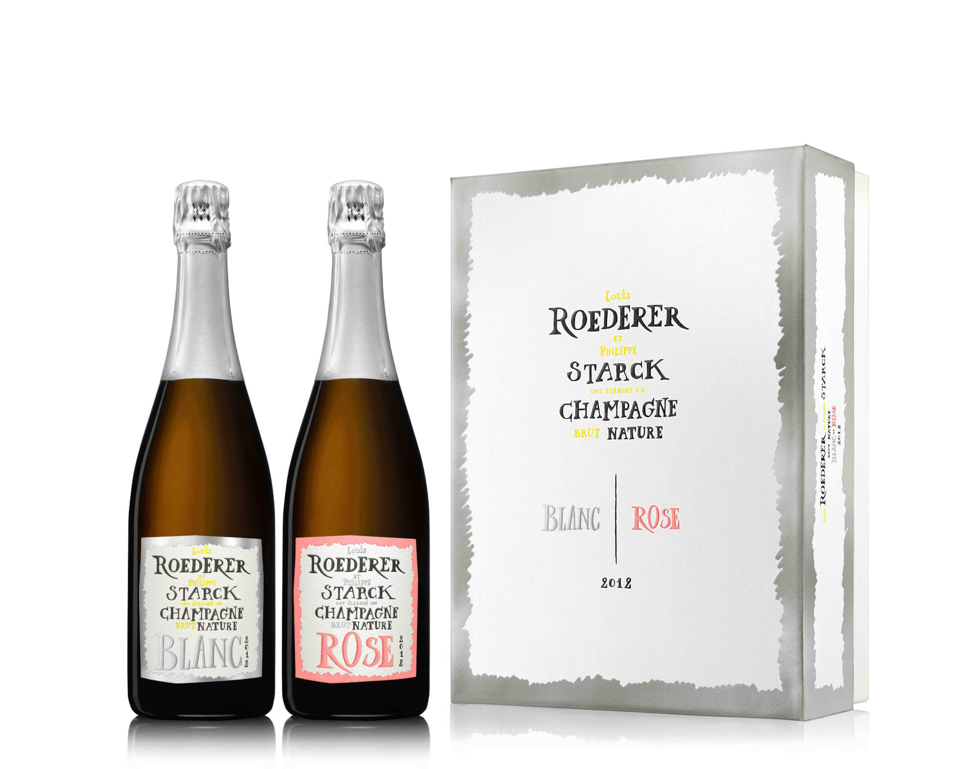 WORDS TO CHAMPAGNE – Brut Nature 2012, Roederer x Starck  -