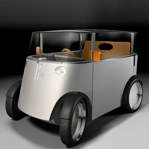 H+, Hydrogen car (project)