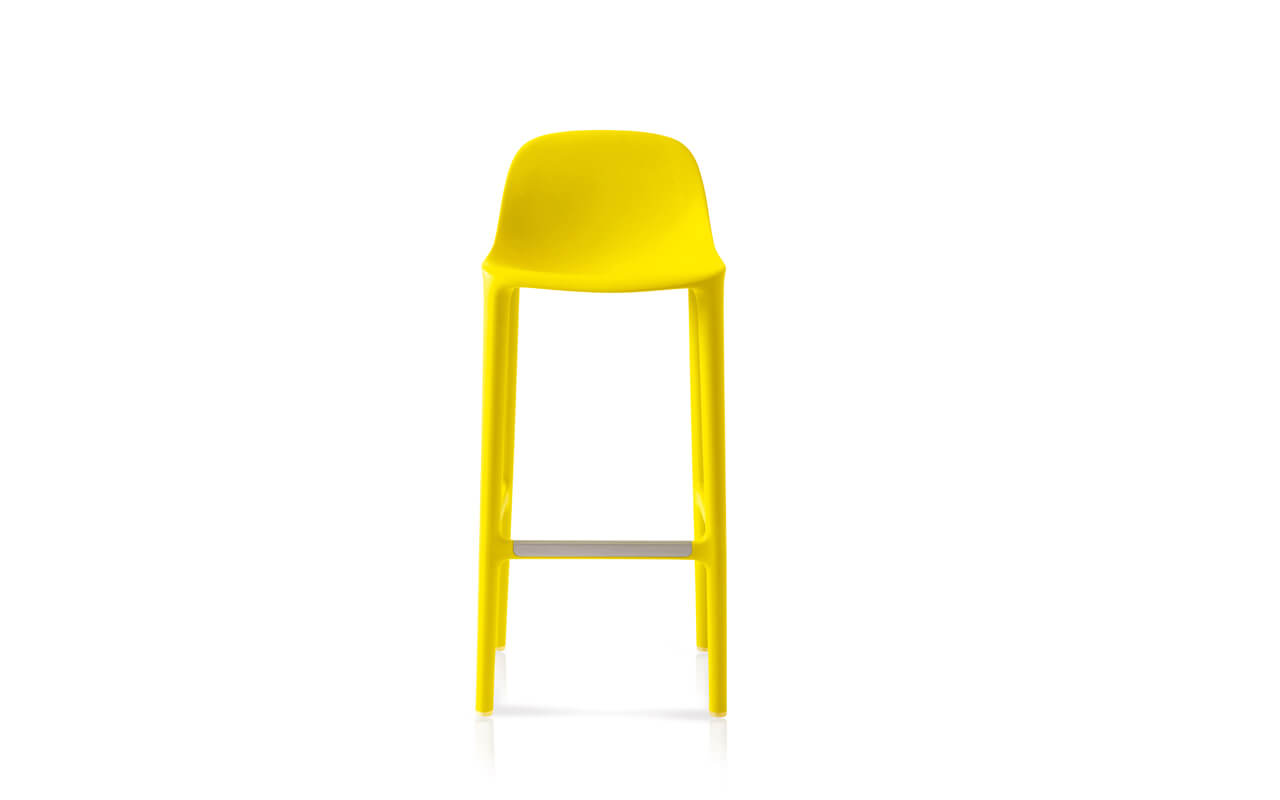 Broom High Stool, Emeco