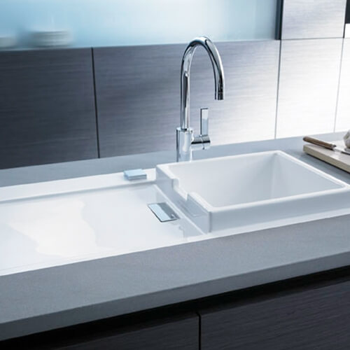 Starck K, kitchen sink (Duravit)