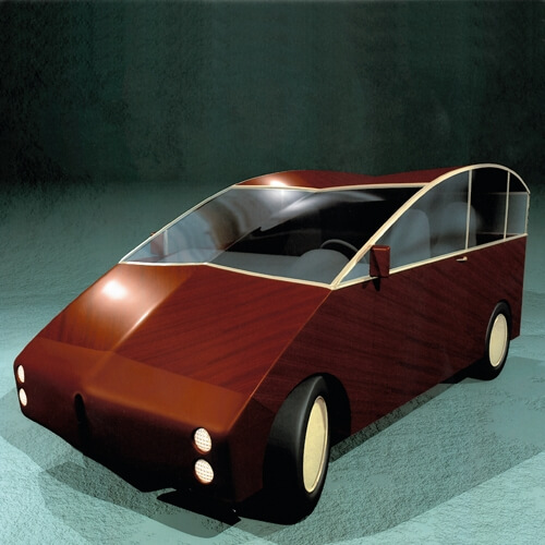 Plywood Car (Project)