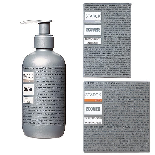 Cleaning products (Ecover) - Good Goods catalog (La Redoute)