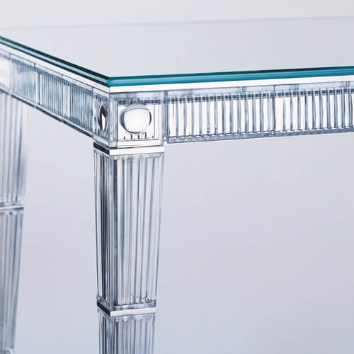 Crystal Supper, table, Darkside collection (Baccarat)