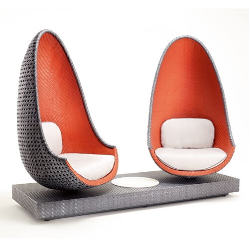 Play with Dedon Lounge - Armchairs
