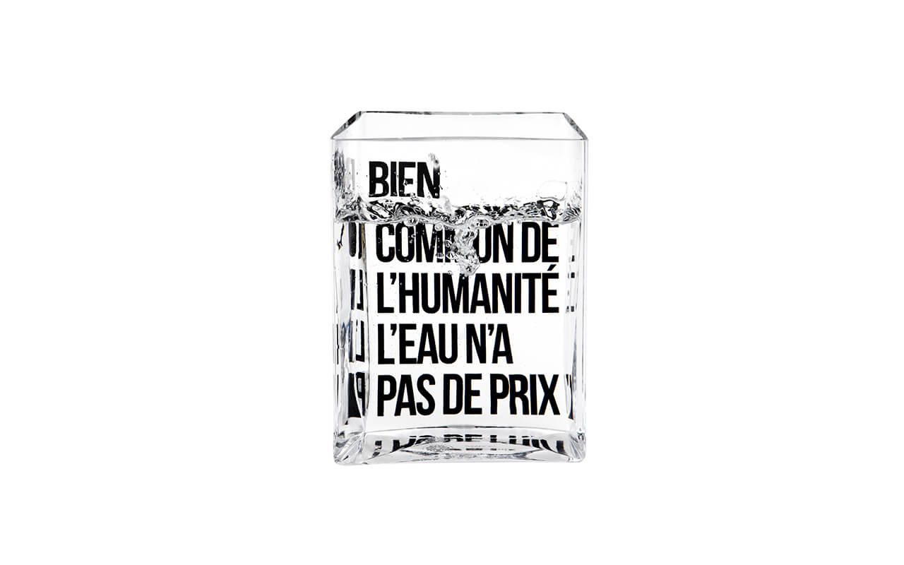 Lame d'eau, Made in Design Editions (Fondation France Libertés)