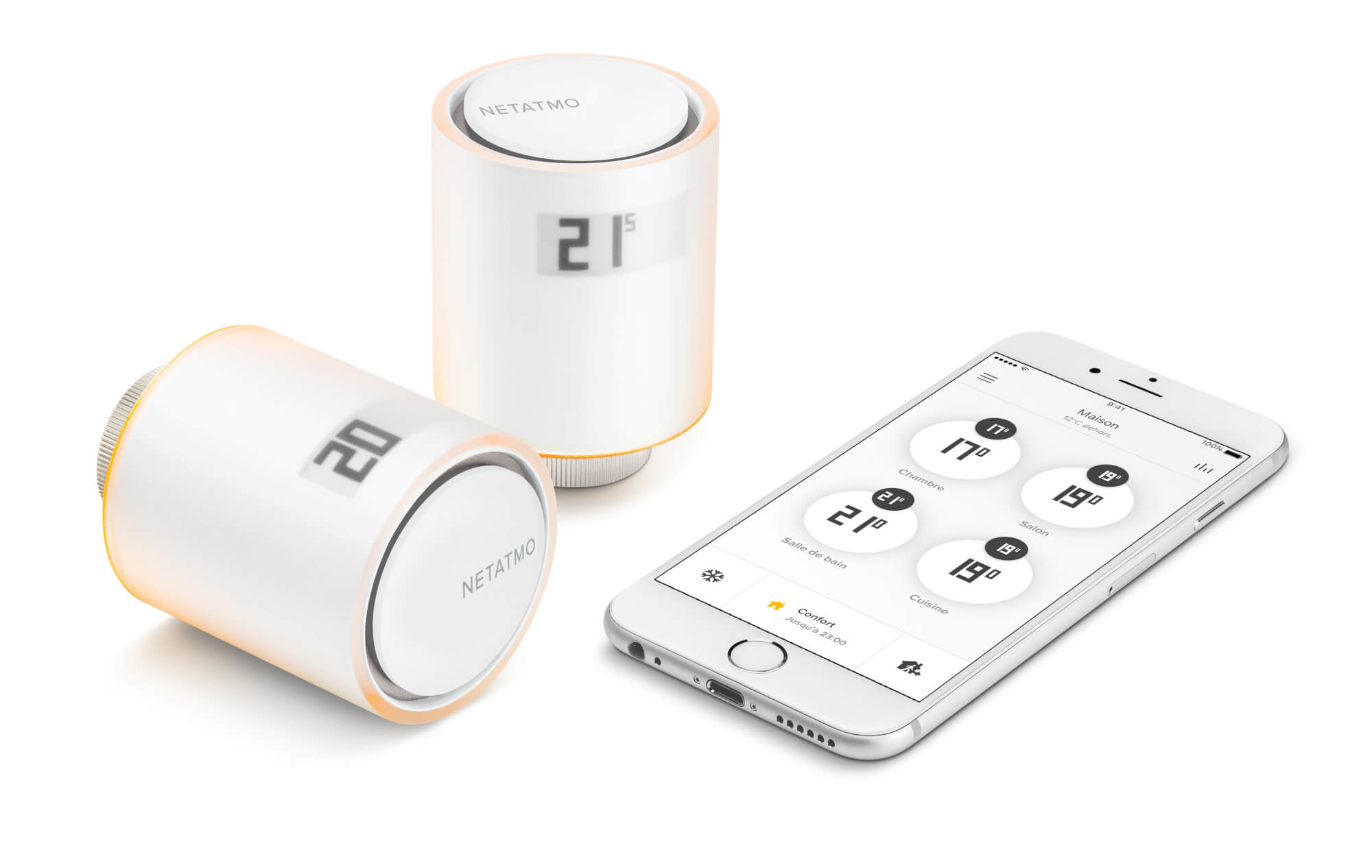 Netatmo by Starck, smart radiators valves (NETATMO)