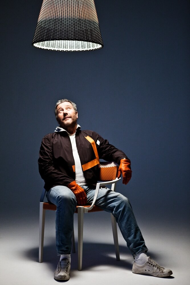 Philippe Starck avec Play With Dedon ©Rainer Hosch -