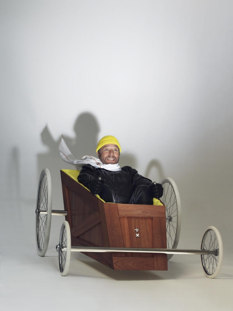 Philippe Starck in his Soap Box ©Intersection -