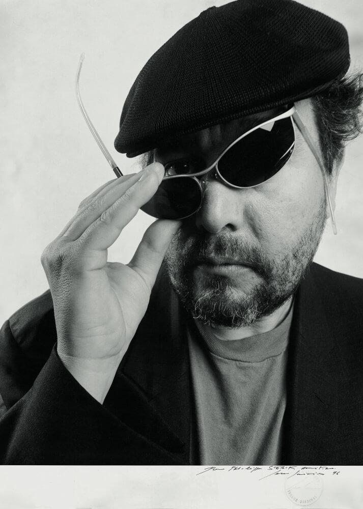 Philippe Starck With Glasses Bio
