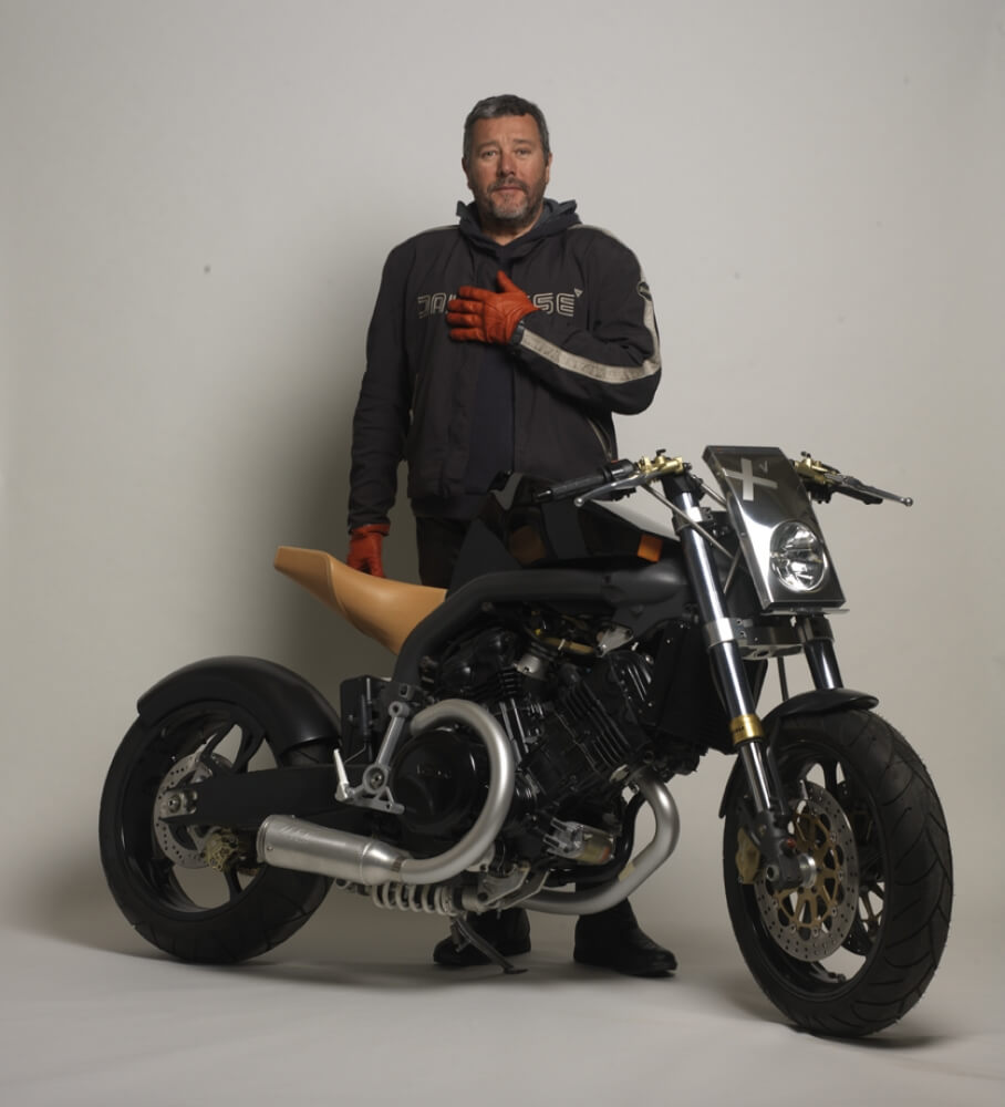 Philippe Starck with Super Naked XV -