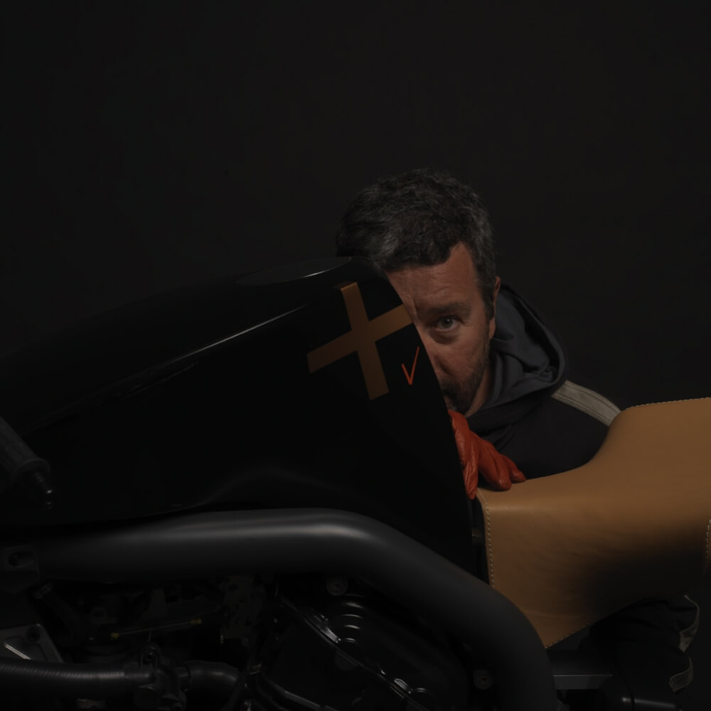 Philippe Starck with Super Naked XV 2 -