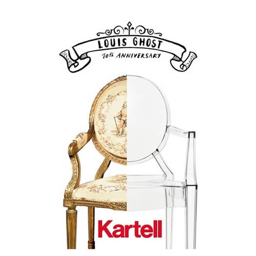 10 years anniversary of the Louis Ghost chair (KARTELL)