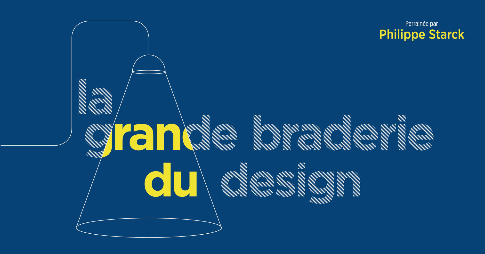 Philippe Starck supports AIDES with La Grande Braderie du Design -