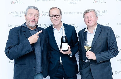 Louis Roederer and Philippe Starck reveal their champagne Brut Nature 2006