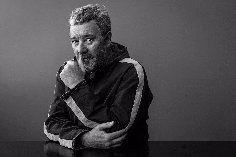 Guest of honor of Haworth, Philippe Starck shared his vision of professional design at the Neocon 2017