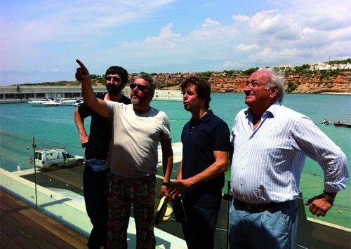 Site visit of Port Adriano, a new Marina in Palma de Mallorca designed by Starck