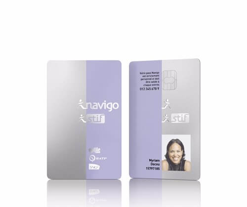 Invited by STIF (Transport Union of Ile-de-France), Philippe Starck graciously revisits the future Navigo card -