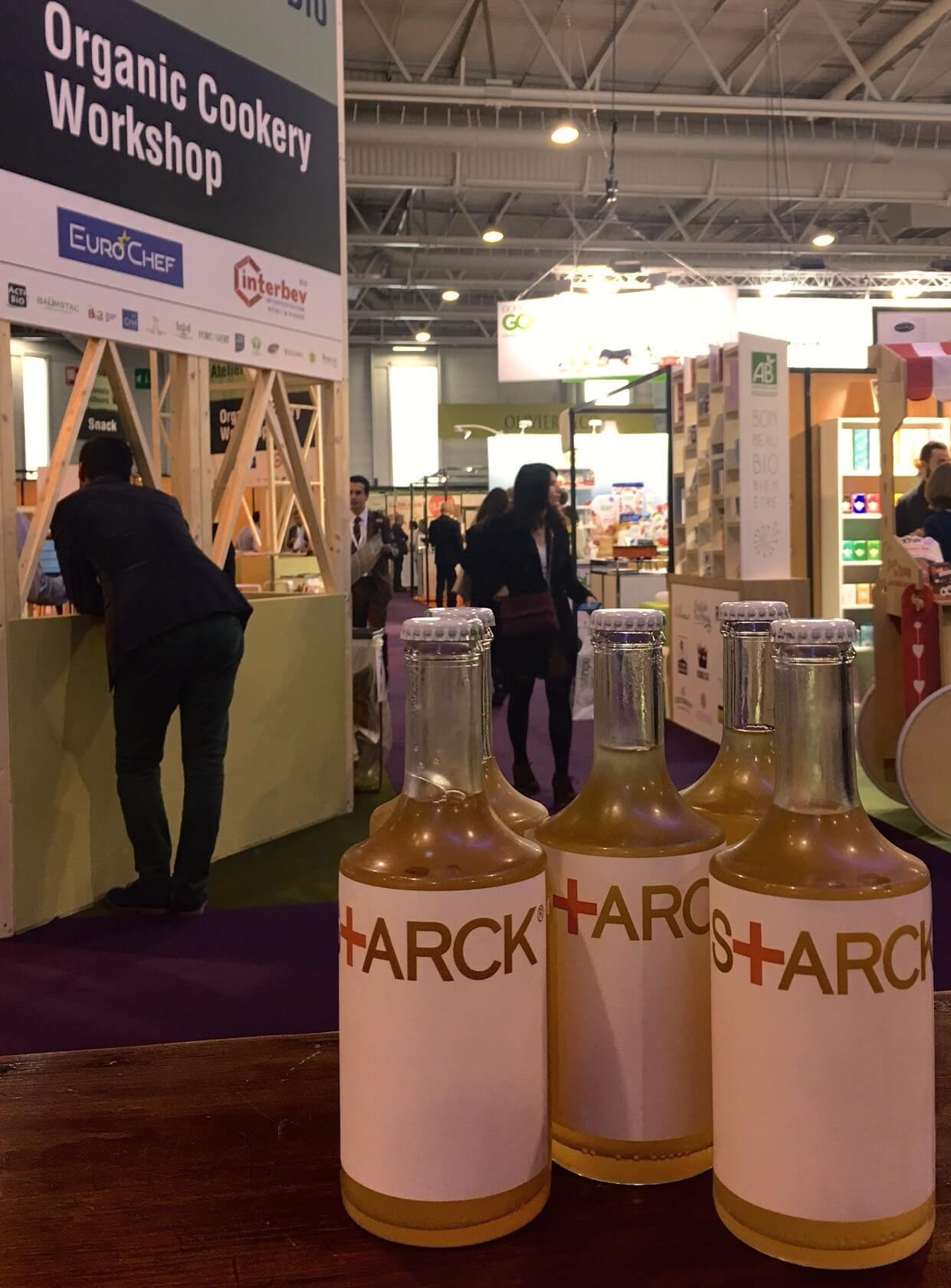 STARCK BEER at Natexpo 2017 the International Trade Show for Organic Products in Paris