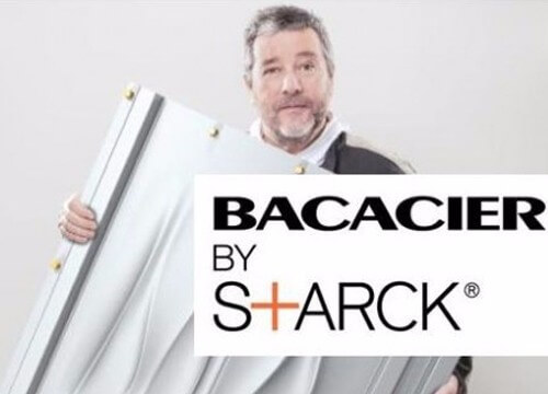 Bacacier and Philippe Starck reinvent steel building -