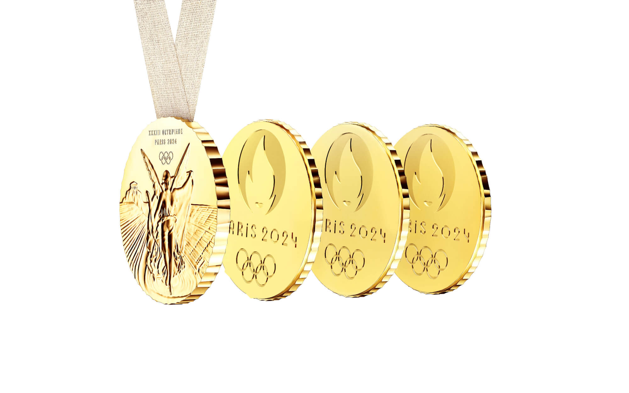 The medal of the Olympics Paris 2024: a medal to be shared, for real