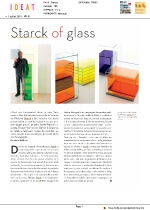 Starck of glass