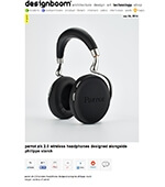 Parrot Zik 2.0 wireless headphones designed alongside Philippe Starck