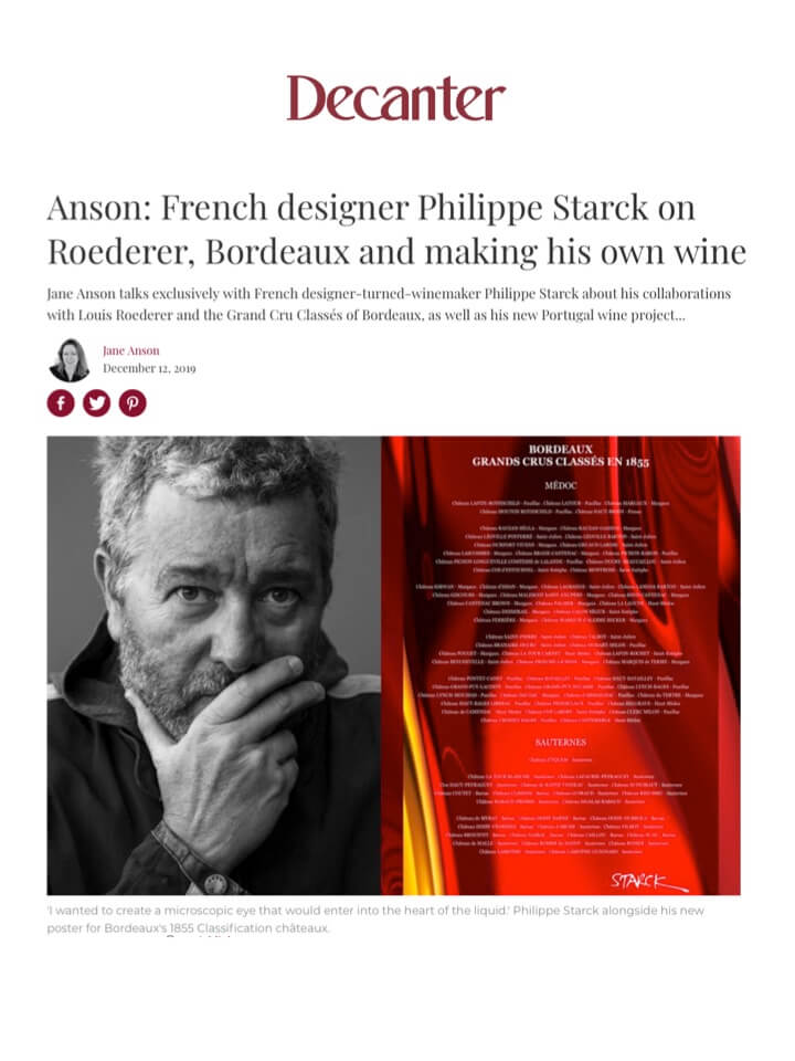 DECANTER - Starck