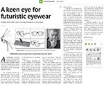 A keen eye for futuristic eyewear
