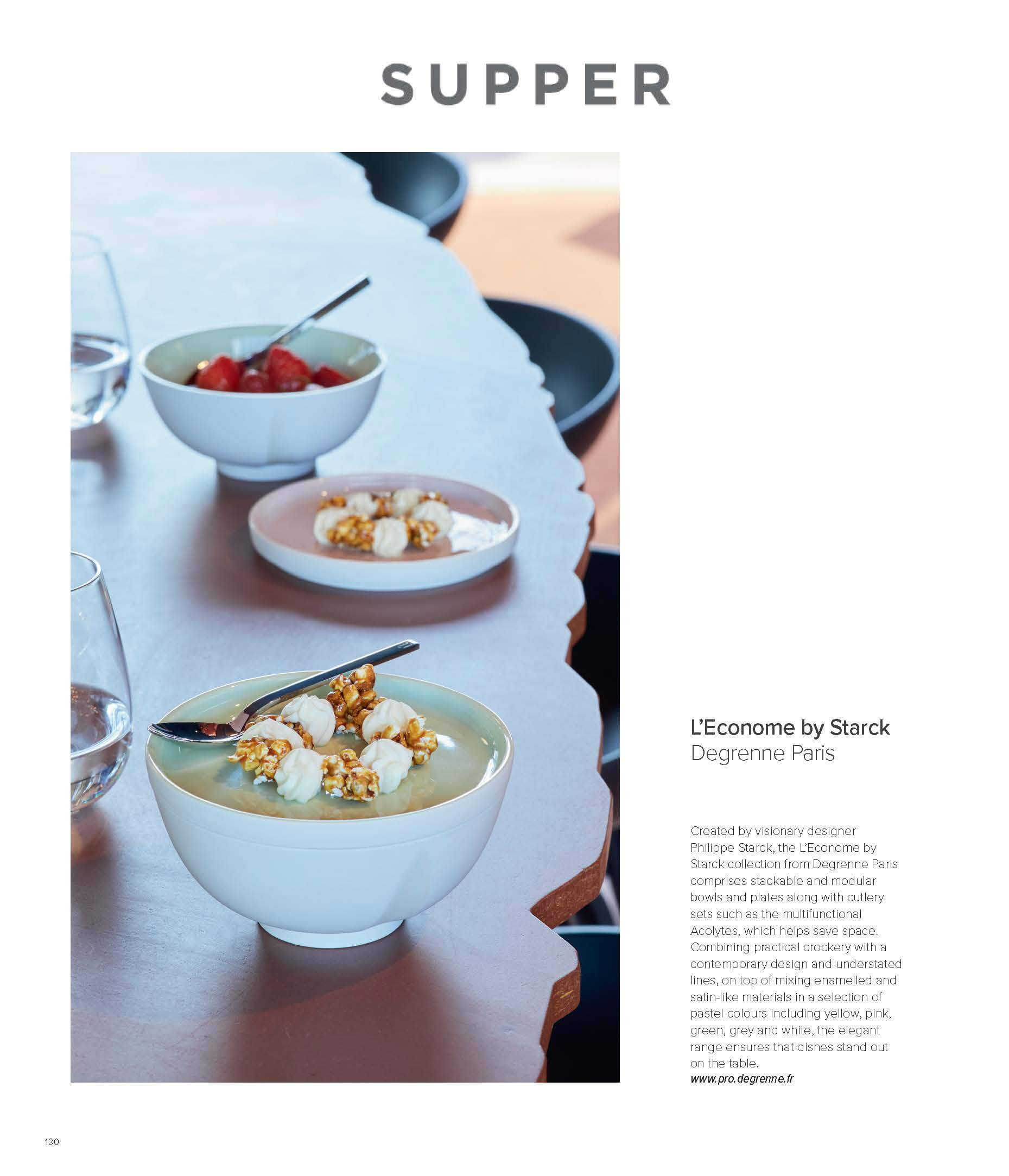 SUPPER MAGAZINE - Degrenne