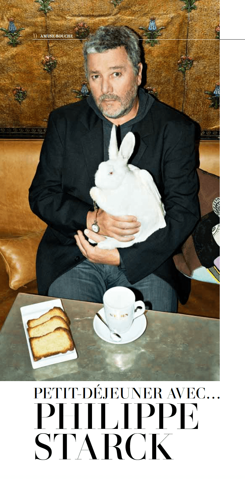 Breakfast with Philippe Starck